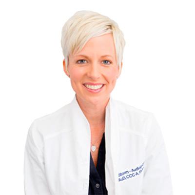 Susanna Storm, Au.D., CCC-A, FAAA Doctor of Audiology Washington University School of Medicine